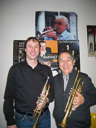 Michael Rösch und Guy Touvron in Paris 2012